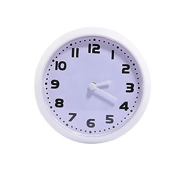 Amazon.de: Wanduhr Klein, CT Tribe 8cm Mini Klein Magnet Wanduhr Wanduhr  Badezimmer Küche Uhr Wall