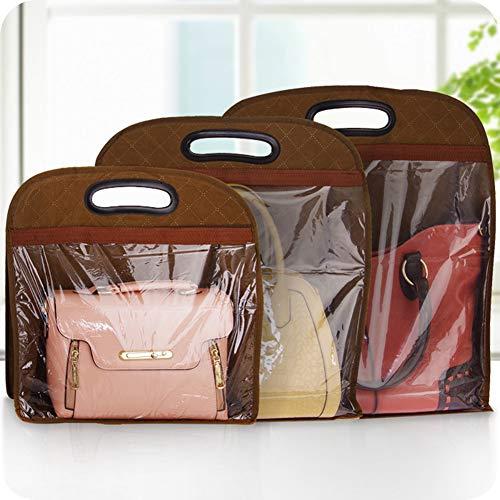 Kleidung Lagerung \u0026 Handtasche Staubschutz Leder Tasche Protector h?ngen Aufbewahrungstasche Closet Organizer -