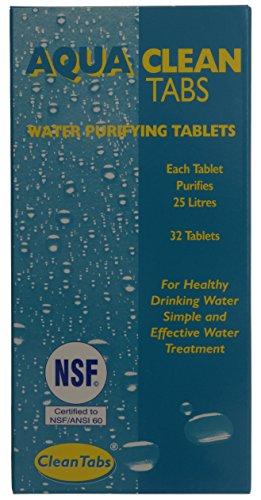 Preisvergleich Produktbild , Tabe Clean Wasserreinigungstabletten, 32 Stück, blau