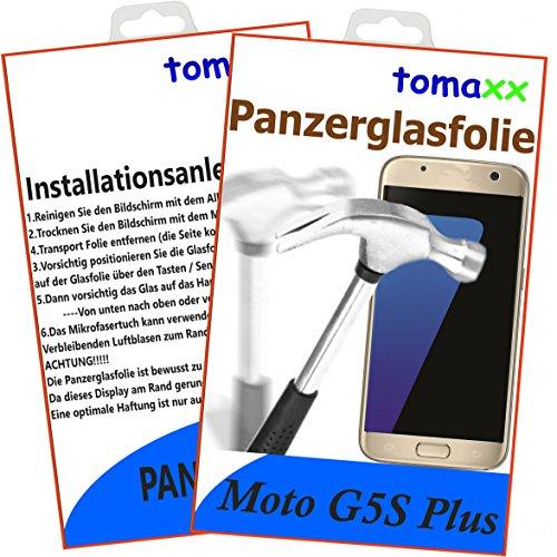 Motorola Moto G5S PLUS Panzerglas - Panzerglasfolie Glasfolie Displayschutz brillante Qualität
