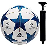 SMT UEFA Champion League Hand Stich Football Size -05 (Blue)