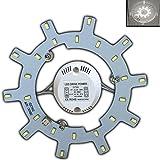 LED Módulo–Kit de conversión de para plafón Ring lámpara plafón redondo Proyección Tubo, 12 Watt, tageslichtweiß, 2G10 12.00 wattsW 230.00 voltsV
