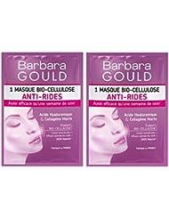 Barbara Gould - Masque Bio-Cellulose Anti-Rides - Sachet uni-dose - Lot de 2