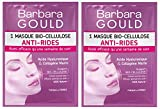 Barbara Gould - Masque Bio-Cellulose Anti-Rides - Sachet uni-dose - Lot de 2