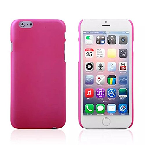 Slim Scrub PC Hard Back Case Housse de protection pour iPhone 6 rose rouge