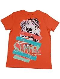Stummer Jungen T-Shirt King of Spades Apricot