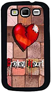 PrintVisa 2D-SGS3-D7866 Love Broken Heart Case Cover for Samsung I9300 Galaxy S III (S3)