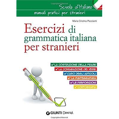 PDF Esercizi Di Grammatica Italiana Per Stranieri Download