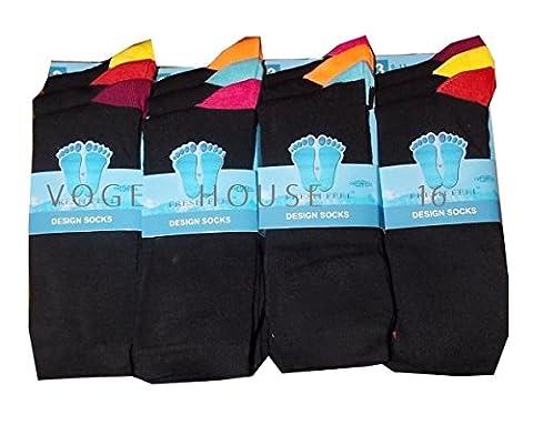 Rich Man Costumes - (ff11) Lot de 12paires de chaussettes à