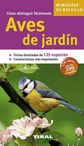 Aves De Jardin (Miniguias De Bolsillo)