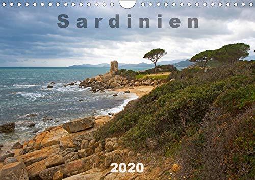 Sardinien Sardigna Sardegna Sardenya 2020 (Wandkalender 2020 DIN A4 quer): Sardinien in Farbe (Monatskalender, 14 Seiten ) (CALVENDO Orte) - 14 Seiten In Farbe