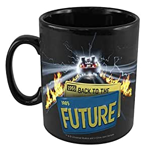 50 Fifty Concepts Back to the Future Mug, Black
