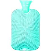 Fashy - Bolsa de agua caliente, color verde (2 litros)