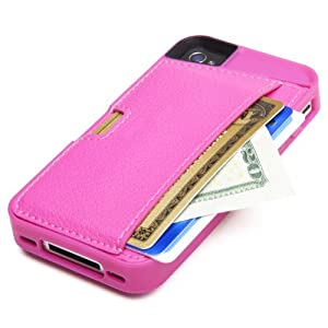 CM4 Q Card Case for iPhone 4/4S - Pink Sapphire from CM4