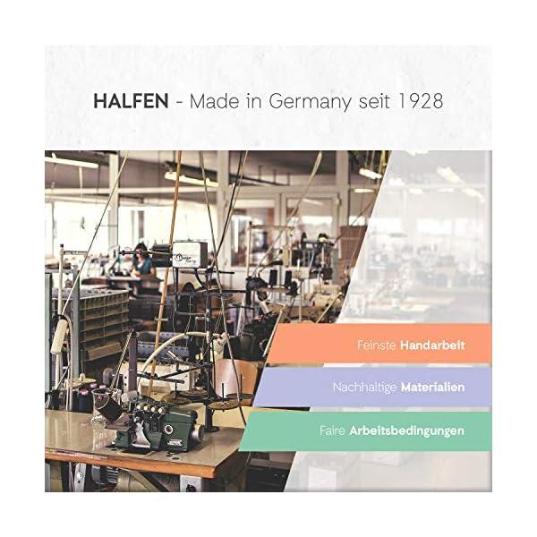 Halfen Wollwalk - Mono para bebé de lana virgen orgánica, 100% fabricado en Alemania, color lila 3