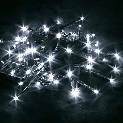 80er Led-lichterkette Led Solar Aussenleuchte Lmpchen Auenbereich Leuchten Kabel Lange Leuchtdauer Kinderzimmer Party Wedding Weihnachtsdeko Christmas Solar Led 8m Wei