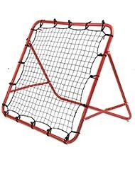KingSaid Football Training Net Soccer Kickback Target Goal Rebounder Net for Kids Children Play Teaching Ball