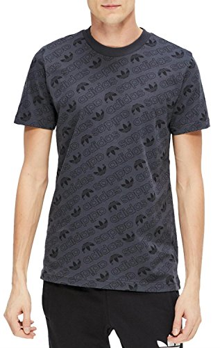 Adidas AOP TEE T-Shirt, Herren grau