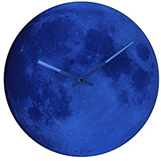 Abbott Collection Blue Moon Wall Clock by Abbott Collection
