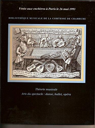 GENEVIÈVE THIBAULT, COMTESSE DE CHAMBURE Biblioth...