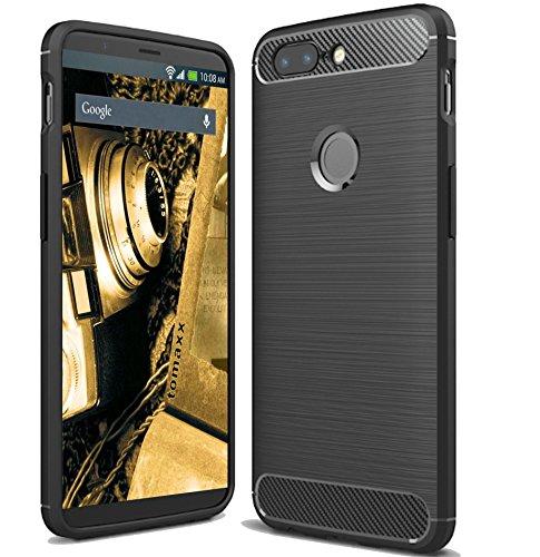 Headset Frei Hände Handy (Huawei P Smart Hülle Schutzhülle Tasche Carbon - Schwarz)