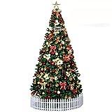 DULPLAY Navidad decoración árbol de Navidad 3 m 3.5 m Hotel Festiva de hardcover...