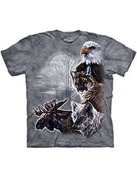 The Mountain - - Les jeunes en Amérique du Nord Collage T-shirt