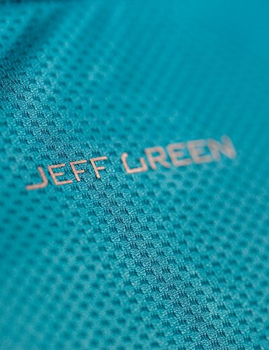 Jeff Green Herren Atmungsaktives Kurzarm Funktions Shirt Rivara Wine