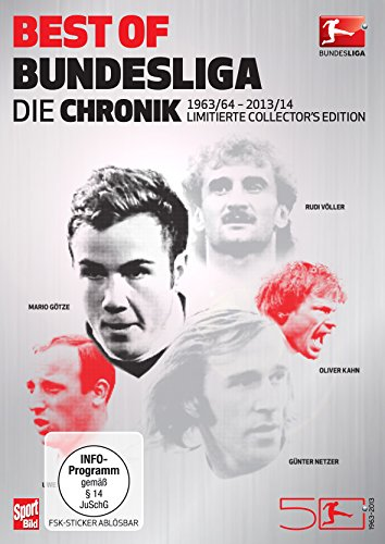Best of Bundesliga - Die Chronik (1963-2014 Collector's Edition im edlen Metallic-Schuber) (9-DVD-Box)