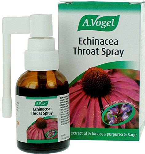 A.Vogel Echinacea (Sonnenhut) mit Salbei Halsspray Frisch Käuterextrakt 30ml -