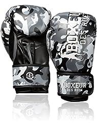 Boxeur Des Rues Fight Activewear Guantes de boxeo gris Camouflage Talla:14 OZ