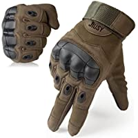 WTACTFUL Touch Screen Rubber Hard Knuckle Full Finger Gloves for Motorcycle Cycling Climbing Hiking Hunting Outdoor Sports Gear Gloves