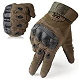 Best Hikings - JIUSY Rubber Hard Knuckle Full Finger Gloves Review