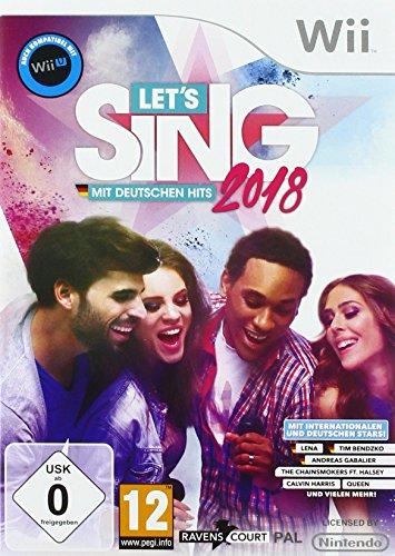 Let's Sing 2018 mit Deutschen Hits [Wii + Wii U] (Disney Sing It Für Xbox)