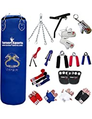 TurnerMAX Punch Bag Rexion Blue 13 Piece Sets with 2P Wall Bracket