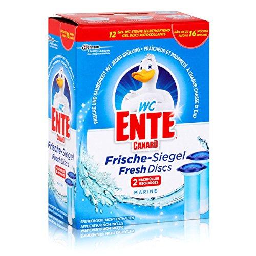 WC Ente Frischesiegel Nachfüller Marine, 2x36gr -