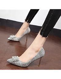919816e4990460 Xue Qiqi Wasser Bohren Silber Schuhe Fein mit High-Heel Schuhe Einzelne  Schuhe Baotou Sandalen Weiblichen Geschlitzt - rocket-league-community.de