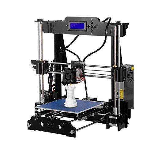 Imprimante 3D Kit, leshp p802m 3D Printer acrylique Magnifier selbstbauen extrudeuse