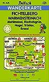 Fichtelberg - Warmensteinach: Mehlmeisel, Bischofsgrün, Nagel, Tröstau, Brand (Fritsch Wanderkarten 1:35000) -