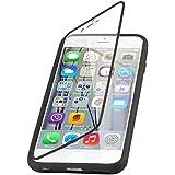 iPhone 6 & 6s 4.7 Zoll, JAMMYLIZARD Rundumschutz Hülle aus mattem Silikon mit integriertem Displayschutz, SCHWARZ