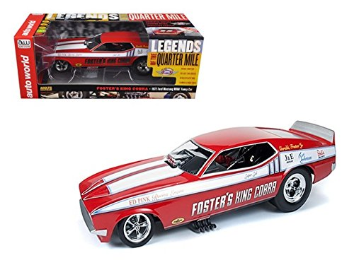1972 Foster's King Cobra Ford Mustang NHRA Funny Car 1/18 (Ford Cobra Engine)