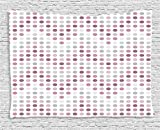 ABAKUHAUS Mauve Décoration Murale, Circulaire Points Formes Rondes, pour la Chambre,...