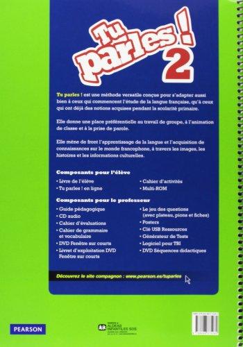 Tu parles ! 2 guide pédagogique + cd audio - 9788498375282