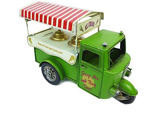 Hucha furgoneta helados Multicolor en Metal 30x 12x 20cm colcha Vintage