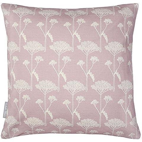 Designers Impermeabile Giardino, Esterno Cuscino - Achillea - Progettato Stampato & fatti a mano nel Regno Unito - Parisienne Rosa, Set of 2, 40 x 40 cm Cushions