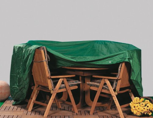 Fun Star Sitzgruppenhülle, Premium, grün, 200x100x100 cm, 669285