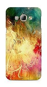 Amez designer printed 3d premium high quality back case cover for Samsung Galaxy A8 (canvas art paints)