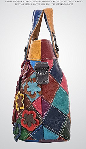 Yan Show, Borsa a tracolla donna multicolore Multicolor Multicolor