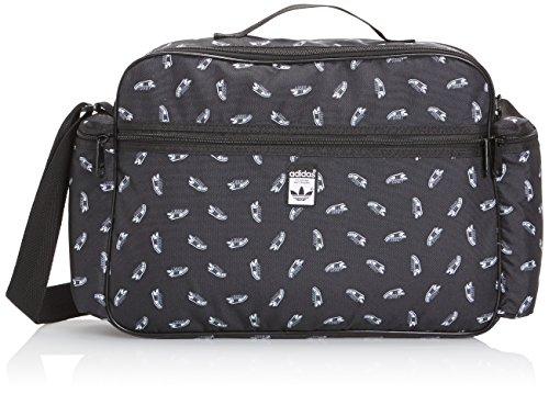 adidas Herren Tasche Superstar Airliner Black/White, 10 x 46 x 29 cm, 14 Liter
