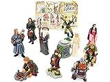 Kinder Überraschung, Alle 10 Figuren von Herr der Ringe I mit einem BPZ (Komplettsätz